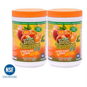 Picture of BTT 2.0 Citrus Peach Fusion 480 g canister (Twin Pack)